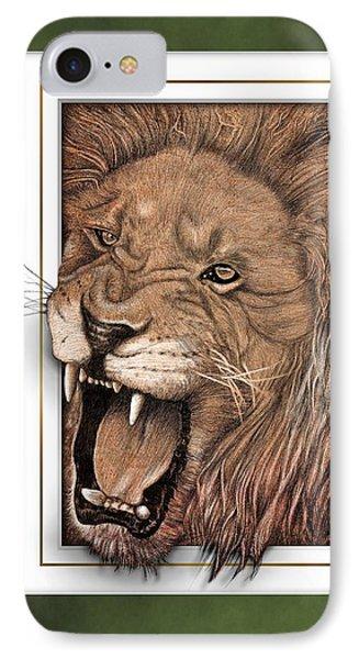 Leo Phone Case by Jim Turner