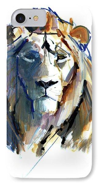 Leo IPhone Case by Mark Adlington