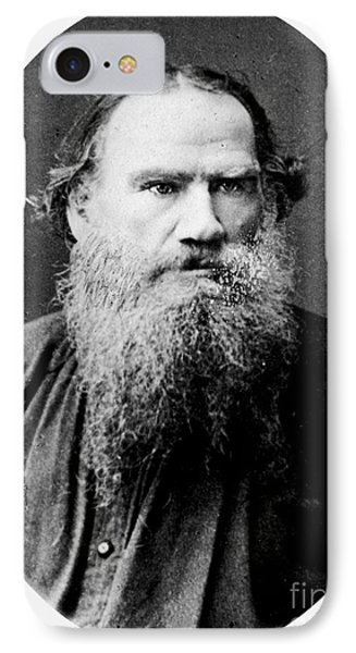 IPhone Case featuring the photograph Leo Tolstoy by Pg Reproductions