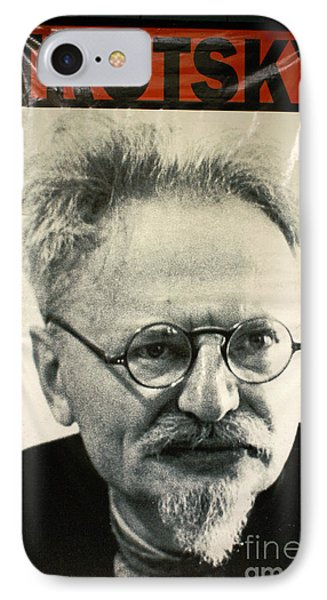 Leon Trotsky Poster Mexico City IPhone Case by John  Mitchell