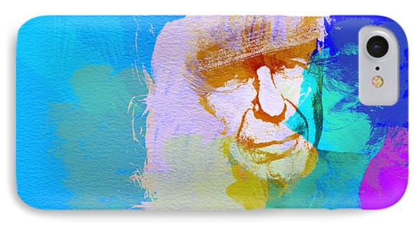 Leonard Cohen Phone Case by Naxart Studio