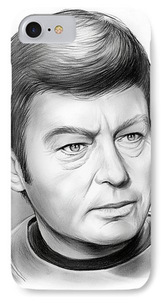 Leonard Mccoy IPhone Case by Greg Joens