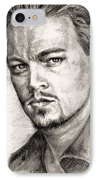 Leonardo Dicaprio Portrait Nr.2 IPhone Case