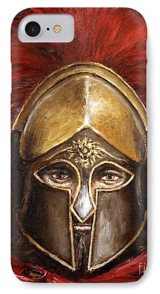 Leonidas IPhone Case by Arturas Slapsys