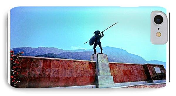 Leonidas At Thermopylae Ver 7 IPhone Case