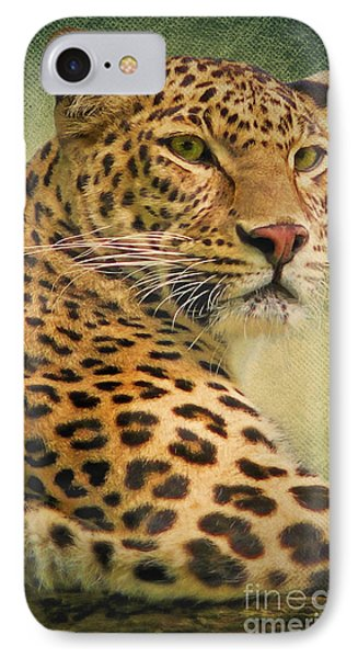 Leopard Phone Case by Angela Doelling AD DESIGN Photo and PhotoArt