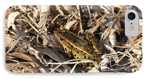 Leopard Frog Phone Case by Lana Raffensperger