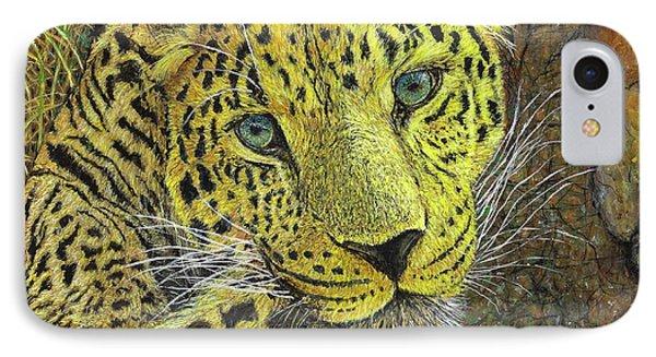 Leopard Gaze IPhone Case