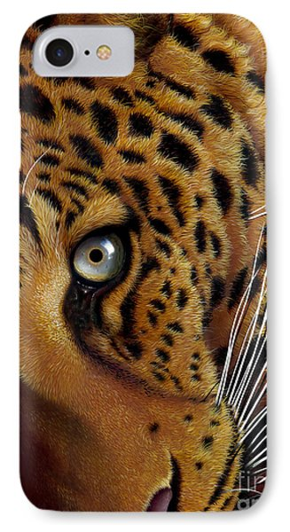 Leopard Phone Case by Jurek Zamoyski
