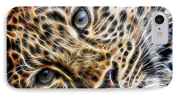 Leopard IPhone Case by Marvin Blaine