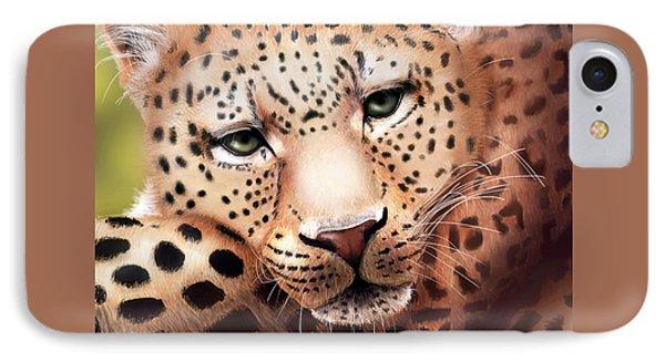 Leopard Resting IPhone Case