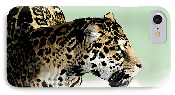 Leopard IPhone Case by Walter Chamberlain