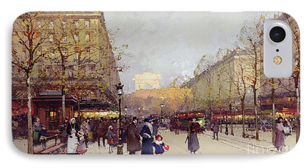 Les Champs Elysees, Paris IPhone Case