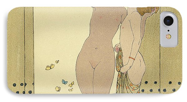 Les Conseils IPhone Case by Georges Barbier