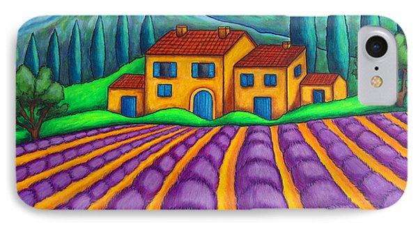 Les Couleurs De Provence Phone Case by Lisa  Lorenz