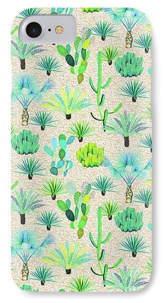 Les Jardins Majorelle  Cacti IPhone Case by Jacqueline Colley