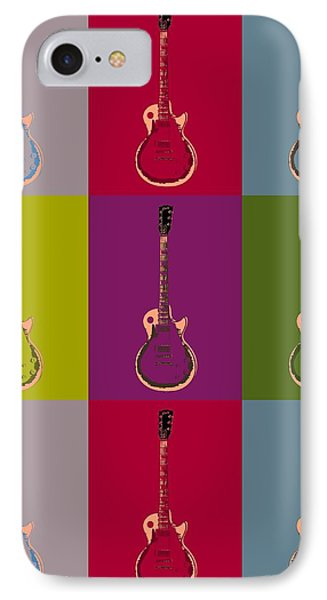 Les Paul Colorful Poster IPhone Case