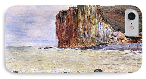 Les Petites Dalles Phone Case by Claude Monet