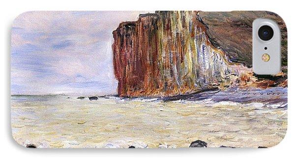 Shore iPhone 7 Case - Les Petites Dalles by Claude Monet