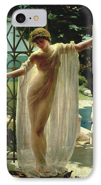 Lesbia IPhone Case by John Reinhard Weguelin