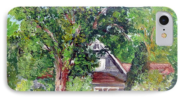 Lesher Homestead Boulder Co IPhone Case by Tom Roderick