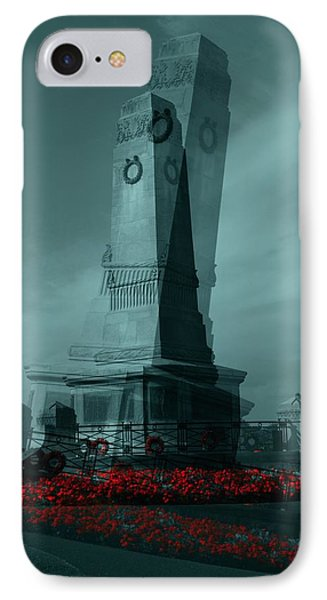 Lest We Forget. IPhone Case by Keith Elliott
