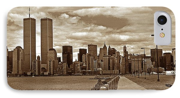 Lest We Forget Sepia IPhone Case by Skip Willits