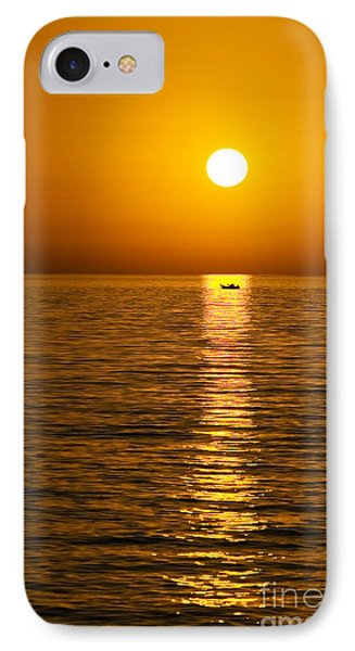 Lesvos Sunset Phone Case by Meirion Matthias