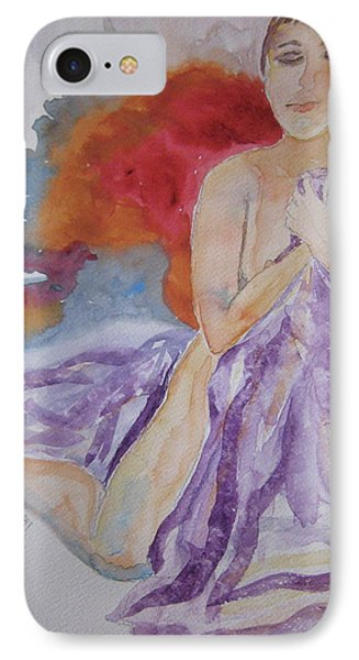 IPhone Case featuring the painting Let It Burn by Beverley Harper Tinsley