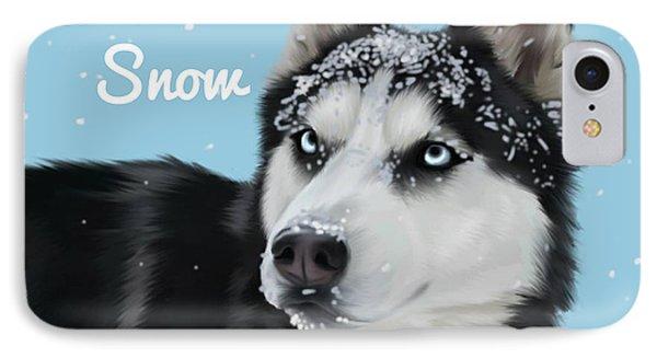 Let It Snow IPhone Case by Autumn Bradley