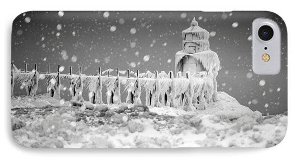 Let It Snow IPhone Case by Jackie Novak