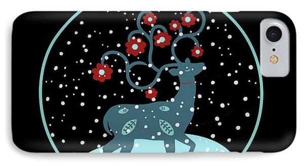 Let It Snow IPhone Case by Marilu Windvand