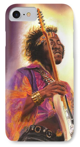 Jimi Hendrix Let Me Stand Next To  Your Fire IPhone Case