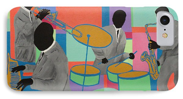Let The Band Play IPhone Case by Angelo Thomas