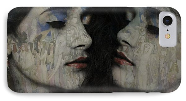Let The Dream Begin Let Your Darker Side Give In  IPhone Case