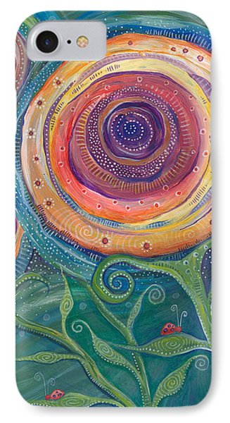 IPhone Case featuring the painting Be The Light by Tanielle Childers