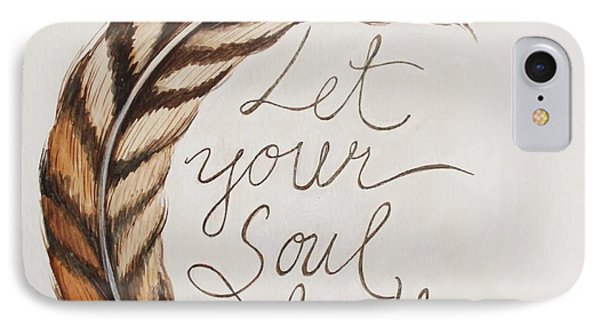 Let Your Soul Breathe IPhone Case by Elizabeth Robinette Tyndall