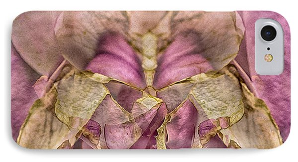 Lether Butterfly Or Not IPhone Case