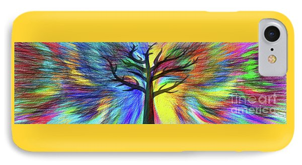 IPhone Case featuring the photograph Let's Color This World By Kaye Menner by Kaye Menner