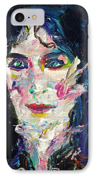 IPhone Case featuring the painting Let's Feel Alive by Fabrizio Cassetta