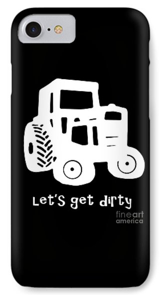 Let's Get Dirty IPhone Case by Edward Fielding