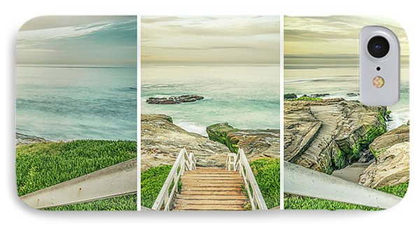 Let's Go Down To Windansea IPhone Case by Joseph S Giacalone