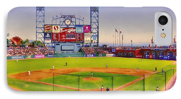 Let's Go Giants IPhone Case by John K Woodruff