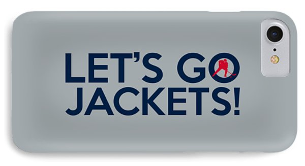Let's Go Jackets IPhone Case