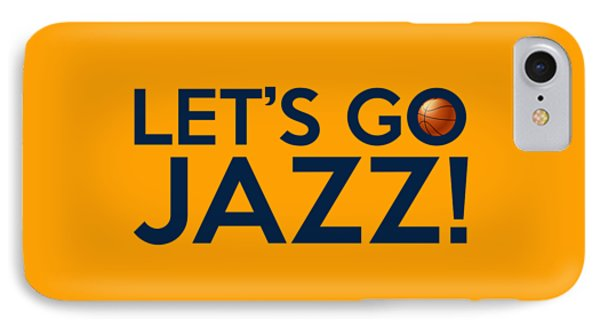 Let's Go Jazz IPhone Case