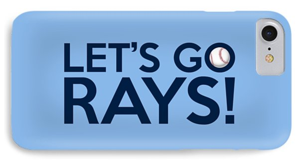 Let's Go Rays IPhone Case