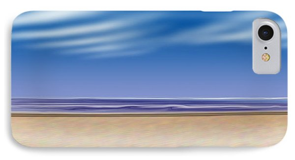 Let's Go To The Beach IPhone Case by Saad Hasnain