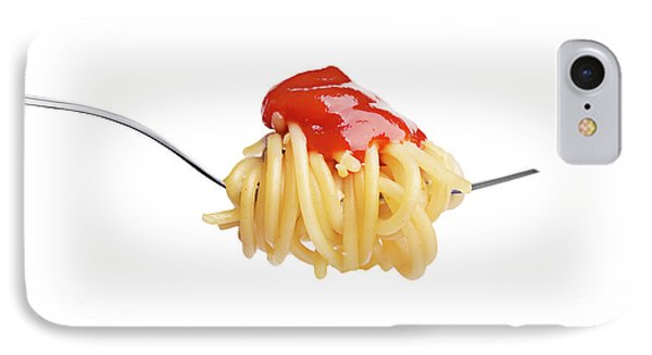 Let's Have A Pasta With Ketchup IPhone Case