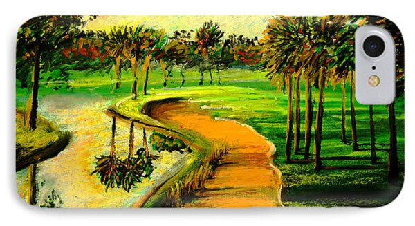Let's Play Golf IPhone Case by Patricia L Davidson