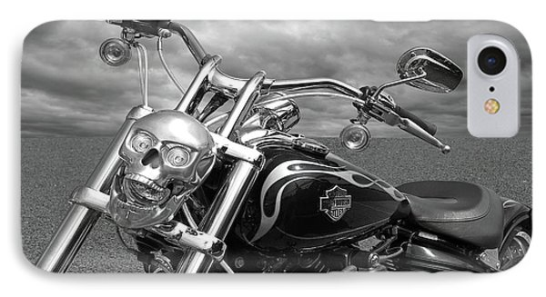 IPhone Case featuring the photograph Let's Ride - Harley Davidson Motorcycle by Gill Billington